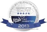 Das Siegel der Anwender muss jeder TOPLIST-Anbieter jährlich neu verdienen. Bild: Telematik-Markt.de