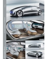 Der F 015 Luxury in Motion. Bild: Mercedes