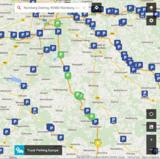 Truck Parking Europe enthält ab sofort auch die Belegungsinformationen für 23 Parkplätze. Bild: PTV