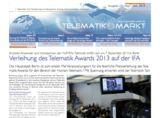 Der Titelkopf der führenden Fachzeitung der Telematik-Branche. Bild: Telematik-Markt.de