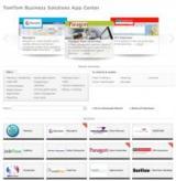 TomTom App Center zeigt Möglichkeiten für integrierte Flottenanwendungen. Bild: TomTom