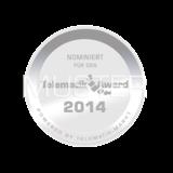 Telematik Award 2014 Siegel . Bild. Telematik-Markt.de