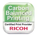 Die ISO 16759-Zertifizierung würdigt die Genauigkeit des innovativen Carbon Calculator von Ricoh.