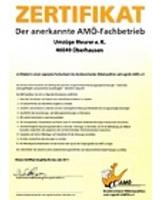 Umzüge Meurer e.K. ist Möform-zertifiziert