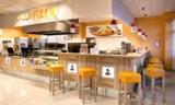Der neue Shop-in-Shop von Hallo Pizza im REWE-Markt.