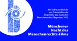 Logo der Nacht des Münchner Menschenrecht-Filmpreises 2013