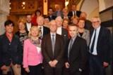 Die Vorstandsmitglieder des PresseClubs mit ihrem neuen Vorsitzenden Peter Schmalz