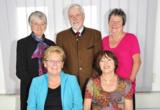 Dr. I. Nies, G. Krug, W. Hörnchen, I. Staudenmeyer, Vorstandsvorsitzende, I. Neumann-Micklich