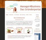 Startseite von Manager4Business