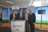 BVMW Landesbeauftragter, Horst Schneider, und Präsident des BVMW, Mario Ohoven, bei rocon