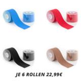 CAPITAL SPORTS Kinesio Tapes in verschiedenen Farben