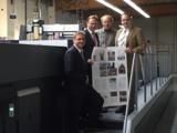 Rehms-Geschäftsführer Daniel Baier (l.) und Dr. Kai Zwicker, Landrat Kreis Borken (2. v.l.)