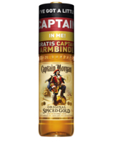 Captain Morgan Flasche zur Europameisterschaft 2012