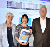 Christiane Sieper-Meyer (Geschäftsführerin), Stefanie Uhr (Marketing)  und Michael Sieper (IT) v.li.