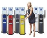 Farbenfrohe Wasserspender von Aqua Vital