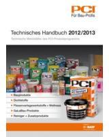 Im Technischen Handbuch von PCI finden Bauprofis sämtliche PCI-Produkte und technische Merkblätter.