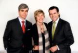 Die Partner des münchner immobilien fokus: Lutz Paproth, Agnes Fischl, Thomas Aigner