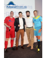 Thomas Vogel, Marco Pasini, Robert Germer und Klaus Lindner