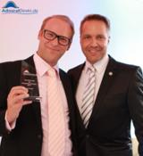 O.Krug, Geschäftsführer KRUG Sachverständige GmbH; K. Lindner, Geschäftsführer von AdmiralDirekt.de