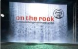"Fogscreen von ""on the rock"" in Aktion"
