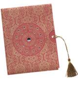 Ein Beispiel für eine orientalische Hochzeitskarte von RoyalDay.