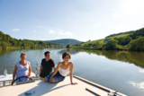 Bootstyp Kormorn auf der Moselle