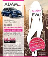 Am 5. Mai sucht ADAM seine Eva.