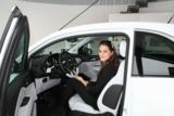 Heidenreich-Werbegesicht Rona Gashi beim großen Opel-Angrillen in Witzenhausen.
