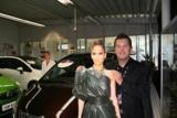 Jennifer Lopez und Jörg Heidenreich freuen sich über das erfolgreiche VIP-Event.