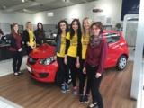 Sehr beliebt beim Thüringer Straßenfest: Der Opel KARL. Quelle: Autohaus Heidenreich.