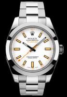 Hier sehen Sie das Modell Milgauss der Firma Rolex