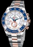 Hier das Modell Yacht-Master der schweizer Uhrenmacher Rolex
