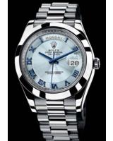 Hier zu sehen ist die Rolex Day-Date II 218206 - erhältlich in der TomBoom Luxury Boutique