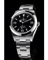 Hier zu sehen ist die Rolex Explorer 214270 - erhältlich in der TomBoom Luxury Boutique