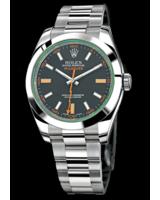 Hier zu sehen ist die Rolex Milgauss 116400GV - erhältlich in der TomBoom Luxury Boutique