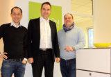 Gemeinsam stark in Aachen: Patrick Heinker, Dr. Oliver Grün und Oliver Thouet (v.l.n.r.).