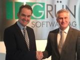 Dr. Oliver Grün (links) und Norbert Demps, die beiden Geschäftsführer der GRÜN oceans GmbH.