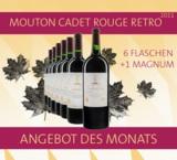 Die französische Weinlegende Mouton Cadet - jetzt bei xanthurus