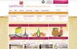 Ansicht des Webshops xanthurus mit Trusted Shop-Siegel