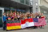 40 der Amerikanischen Programmteilnehmer in Köln