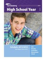 Die neue High School Year Broschüre der Carl Duisberg Centren