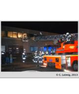Dank des schnellen Einsatzes der Feuerwehr konnte ein noch größerer Schaden abgewendet werden