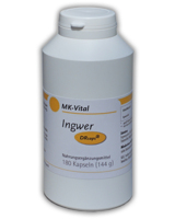 Ingwer-Kapseln von MK-Vital