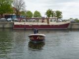 Pitti ist das Boot für den praktischen Teil der Ausbildung.