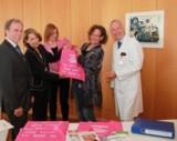 Die erste Tasche wurde im Brustzentrum Hameln ausgeliefert
