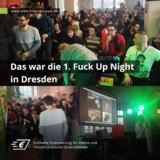 """Gesponsert von der Elbe Finanzgruppe: Erste erfolgreiche """"Fuck Up Night"""" in Dresden – weitere folgen"""