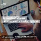 So erzielen Softwareunternehmen schnelle Liquidität
