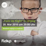 """Rechnung48 ist Sponsor der """"Fuck Up Nights"""" in Leipzig"""