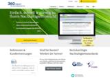 Homepage von 360report
