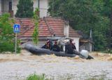 Der ASB leistet wichtige Soforthilfe in den Hochwasserregionen. Foto: ASB